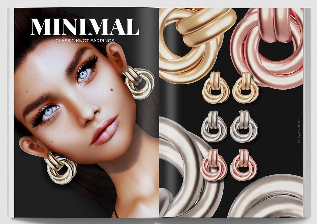 MINIMAL – Classic Knot Earrings