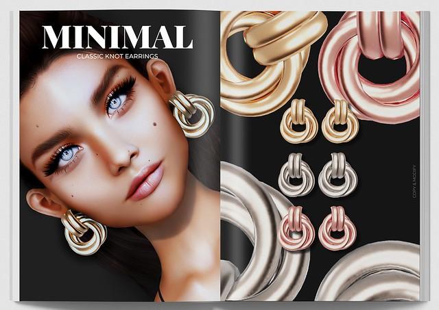 MINIMAL - Classic Knot Earrings