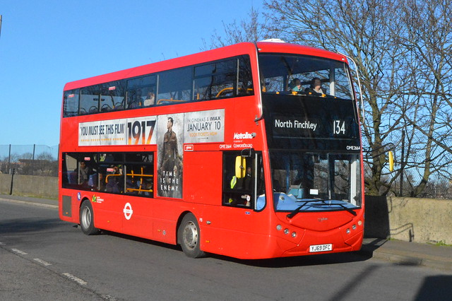 YJ69 DFC (OME2664) Metroline London