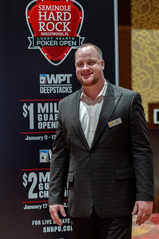 A Conversation With Seminole Hard Rock Director Of Poker Marketing Tony Burns World Poker Tour