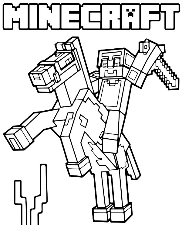 Minecraft Coloring Page From TCP Top Selection Of Printabl… Flickr