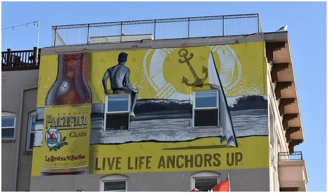 Cerveza, Wall Mural @ Venice Beach, Calif