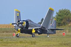2018.09.08.301 MELUN-VILLAROCHE - Douglas AD-4N Skyraider (F-AZFN - 22-DG - BuNo.51-25716)
