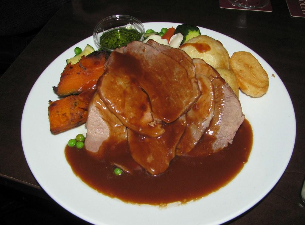 Roast Lamb, Dooleys, Lidcombe, Sydney, NSW.