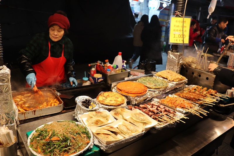 Night market de Seul