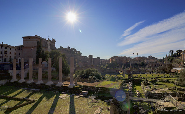 Classical view of Forum Romanum