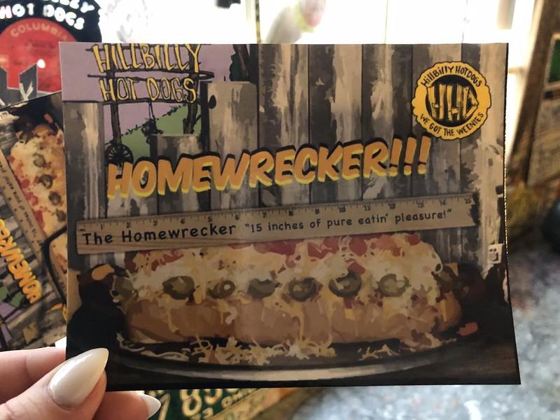 Hillbilly Hotdogs Homewrecker