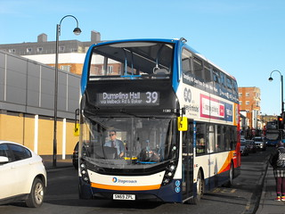 Stagecoach in Newcastle 11283 SN69ZPL