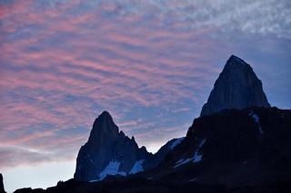 Sunset from Hosteria El Pilar