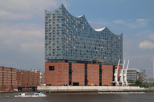 Hamburg, Norderelbe, Elbphilharmonie