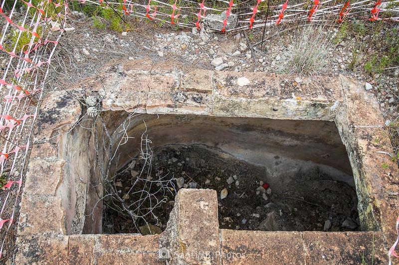 Cisterna de agua de Mas Vendrell
