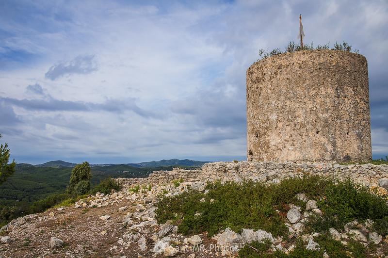 Molí del Rector en Olivella