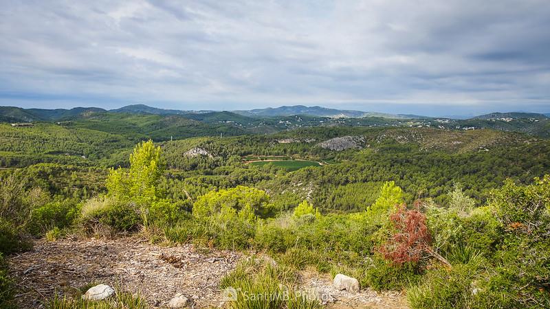 Vistas desde el Puig Molí
