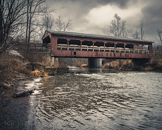 Walter F Ehrnfelt Covered Bridge - Mill Stream Run Reservation