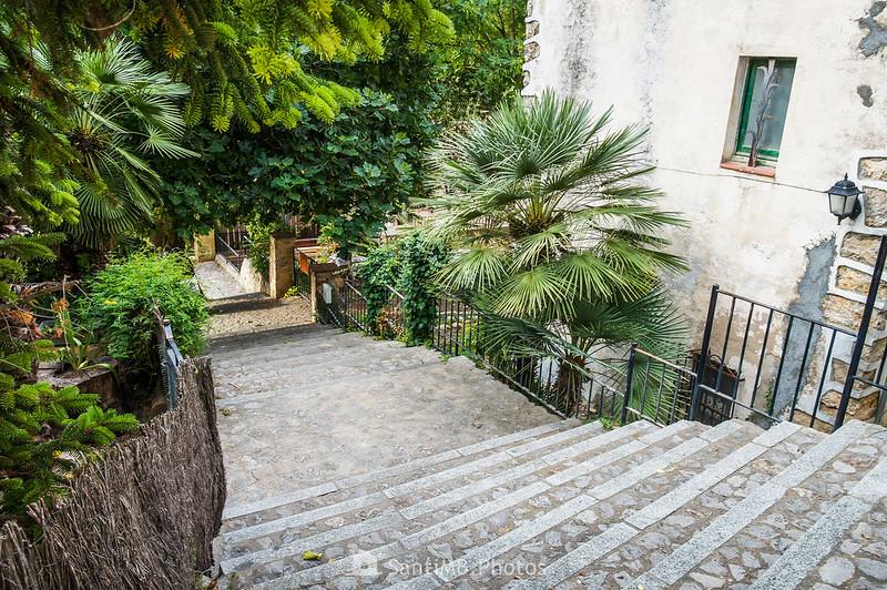 Escaleras del Carrer Major d'Olivella al Carrer de Sant Isidre