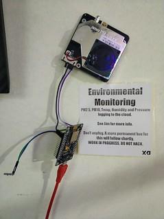Environmental monitoring.