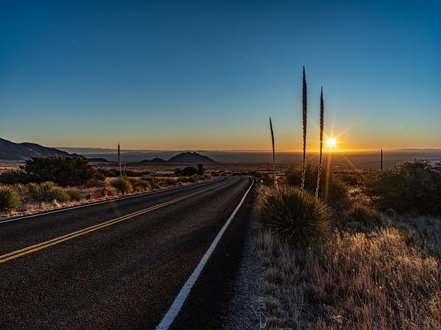 The Tularosa Basin, New Mexico