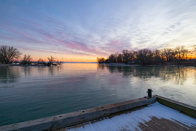 Sunrise at the Government Wharf | Point Traverse | Prince Edward County | Ontario | Canada