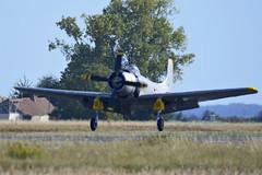 2018.09.08.299 MELUN-VILLAROCHE - Douglas AD-4N Skyraider (F-AZFN - 22-DG - BuNo.51-25716)