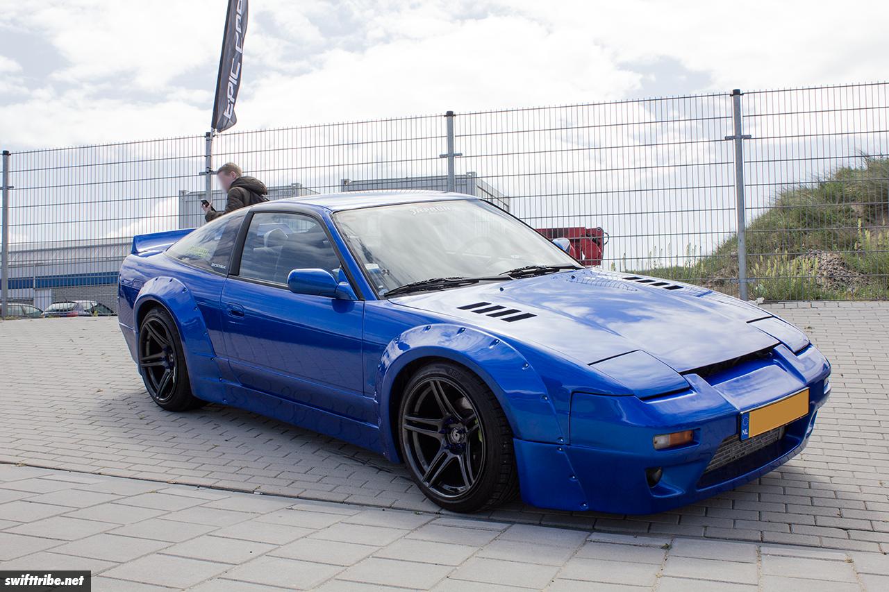 Nissan 200SX at JapFest Zandvoort 2019
