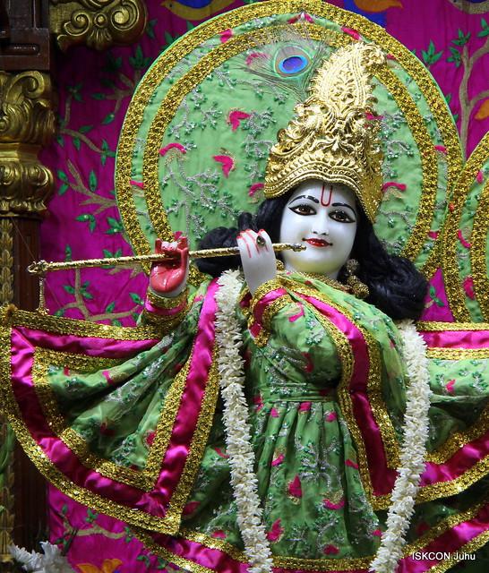 ISKCON Juhu Mangal Deity Darshan on 19th Jan 2020