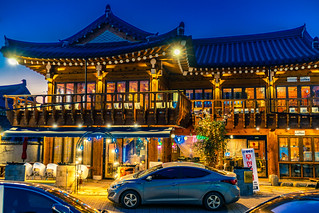 Night lights in Gyeongju