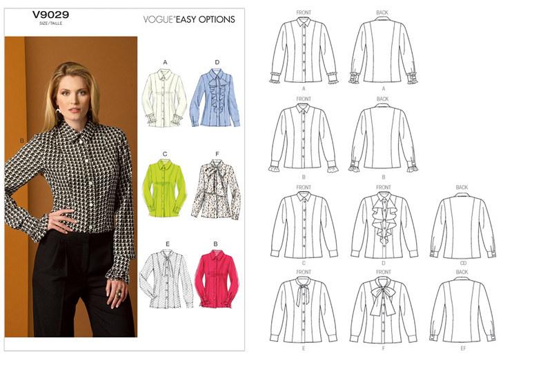 Vogue 9029 pattern envelope