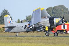2018.09.08.303 MELUN-VILLAROCHE - Douglas AD-4N Skyraider (F-AZFN - 22-DG - BuNo.51-25716)