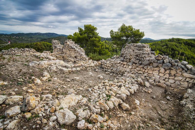 Excavación del Castell Vell d'Olivella