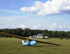 2-33 and Blanik at Merlin Aerodrome, VA