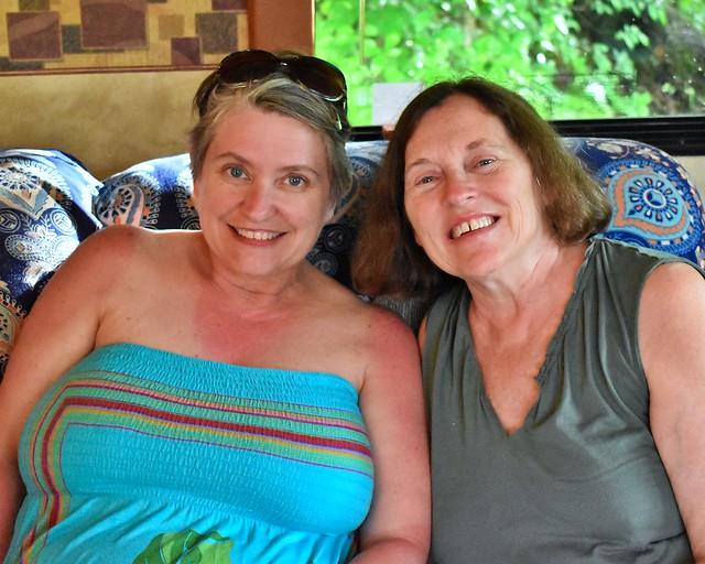 Anita and Lydia, 5/26/19