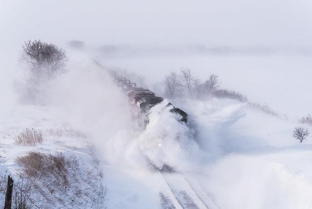 Snowdrifts in Eden Valley