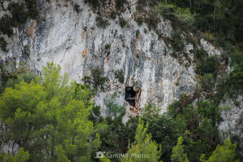 Cueva en la Penya de Can Duran