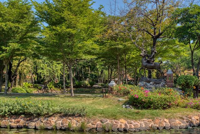 Garden of the Gods in Muang Boran (Ancient City) in Samut Phrakan, Thailand