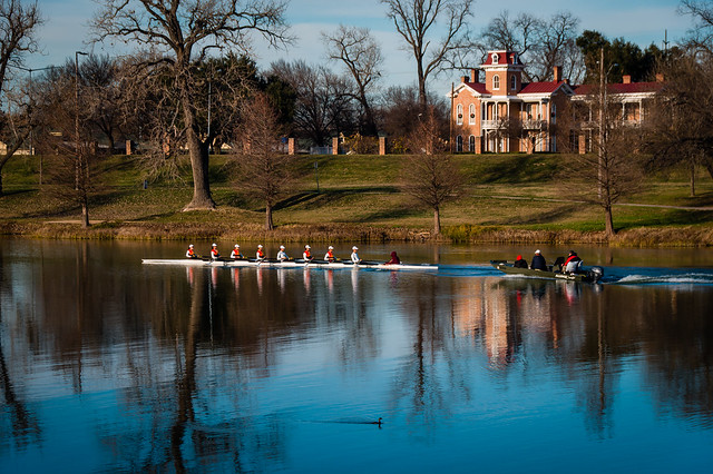 2020 Visions 1.3 ~ Rowing Team on the Brazos River