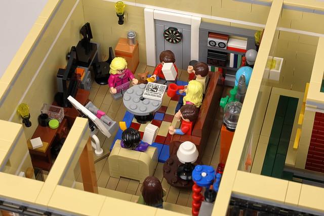 Central Perk and Bing Bang Theory Modular