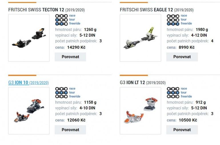 Podle čeho vybírat skialpové vázání?