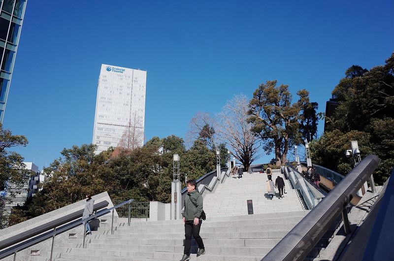 永田町二丁目日枝神社参道階段