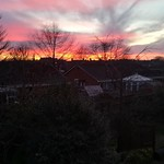 18. Jaanuar 2020 - 16:43 - Sunset over Shrewsbury 18-01-20.