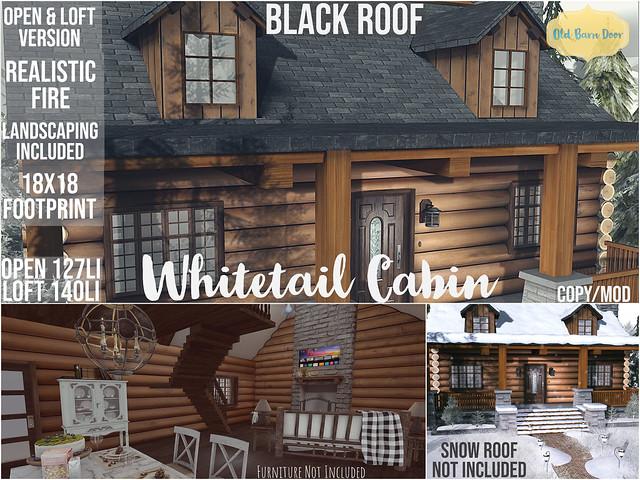 {OBD} Whitetail Cabin @ Shiny Shabby