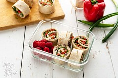 Vegan Turkey Lunch Roll-ups