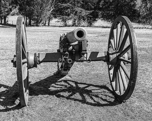 Cannon at Manassas National Battlefield Park