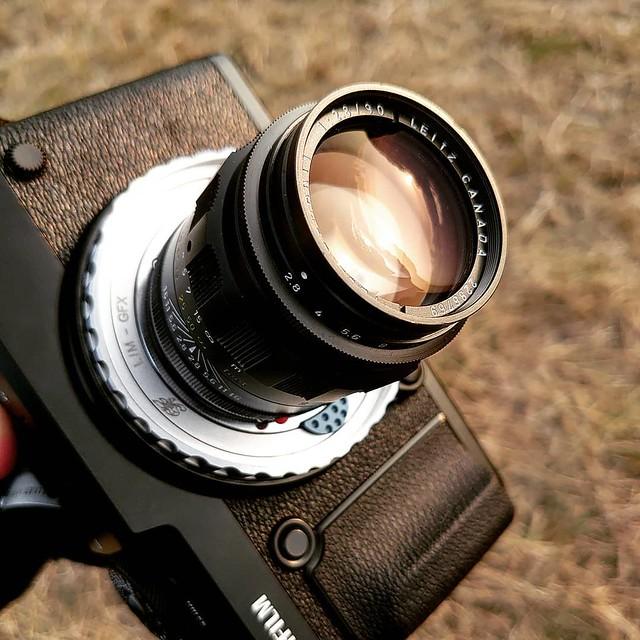 Leica 90mm f2.8 肥九和富士GFX的結合
