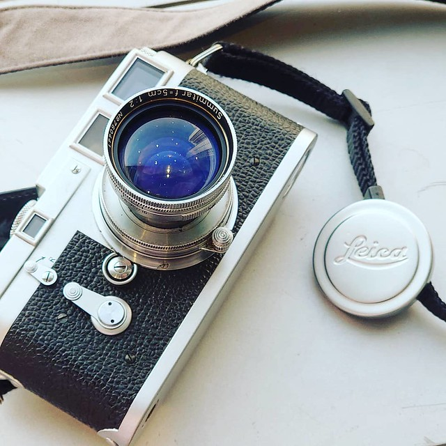 Leica Leitz Summitar 5cm f2 縮頭再試