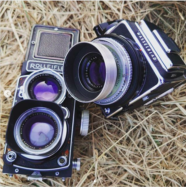 Kodak 100mm f3.5 medalist hasselblad感覺