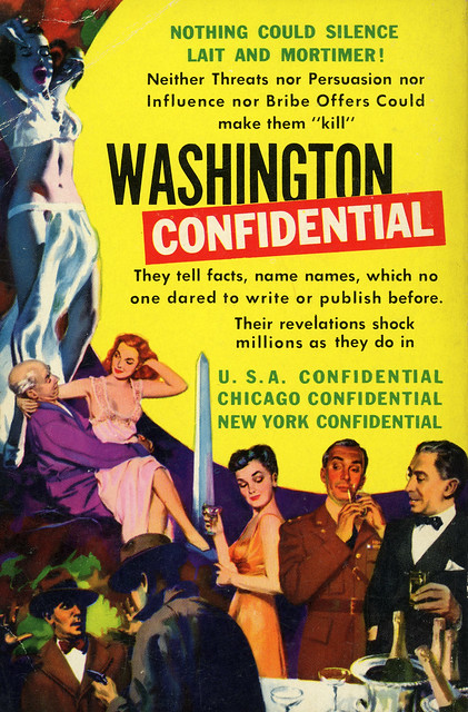 Dell Books D108 - Jack Lait & Lee Mortimer - Washington Confidential (back)