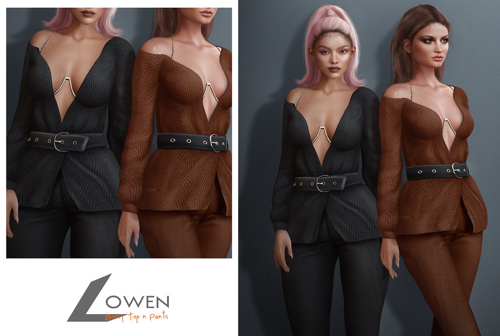 Lowen – Bossy Blouse & Pants