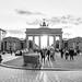 Puesta de sol en la Puerta de Brandeburgo, Berlin
