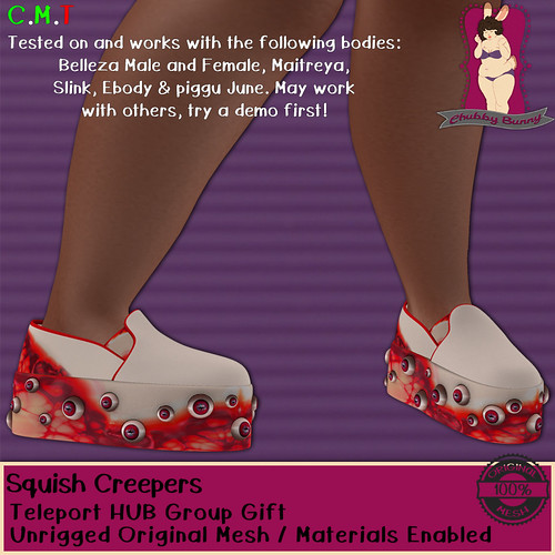 CB Squish Creepers Teleport HUB Group Gift