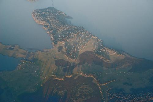 aerial australia geotagged geotaggedwithiphonesecyclemeterapp imagetype landscape photospecs places tasmania habitat mollivan wetland